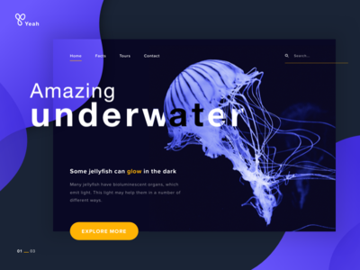 Science journal topic paragraph cta underwater science logo nature journal blog
