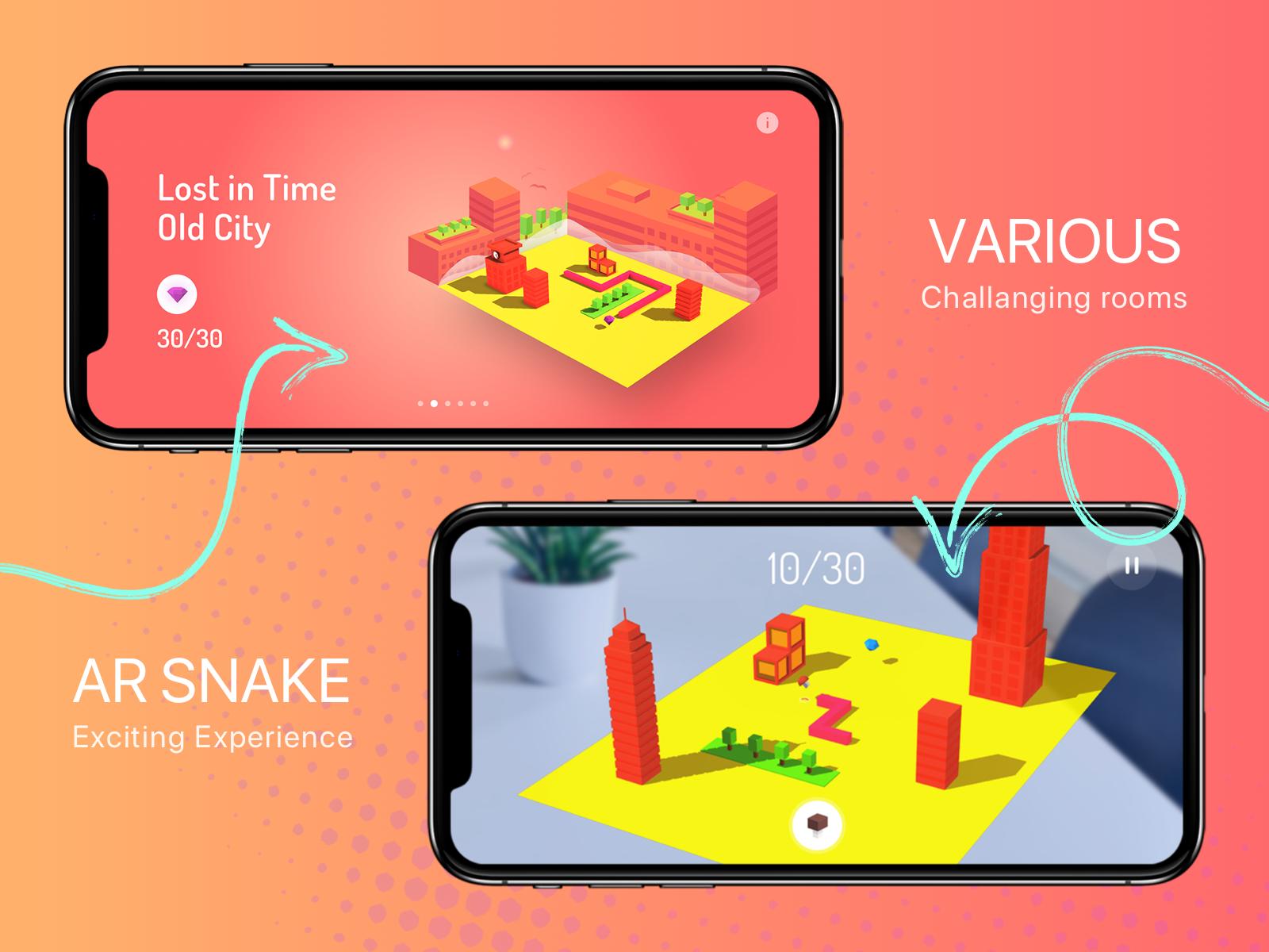 Ar snake game full