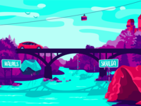 RoadGames Illustration
