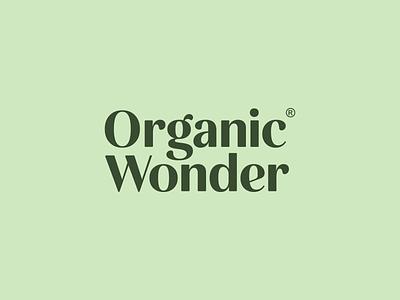 OW organic wordmark bold monogram simple logotype logo