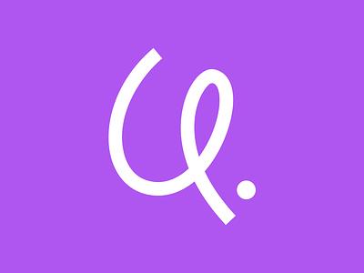 Ribbon ribbon icon design bold monogram simple logotype logo