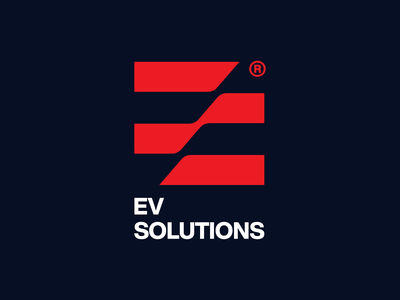 ES branding icon design bold monogram simple logotype logo