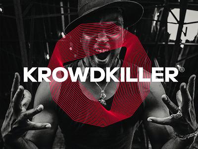 KK Records logodesign production design bold monogram simple logotype logo