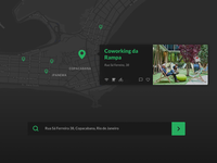 Coworking search web app