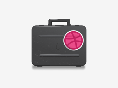 Keeping all my gadgets in the briefcase :) illustration briefcase