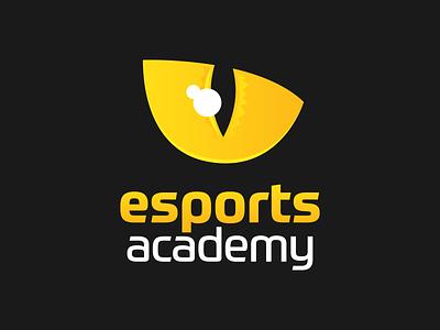 Logo for Esports Academy esports logo design logo