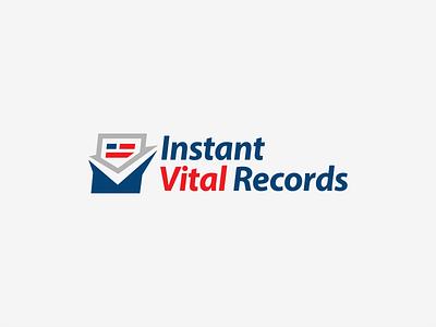 Logo design for Instant Vital Records records logodesign logo