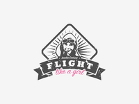 Logo for Flight Like a Girl