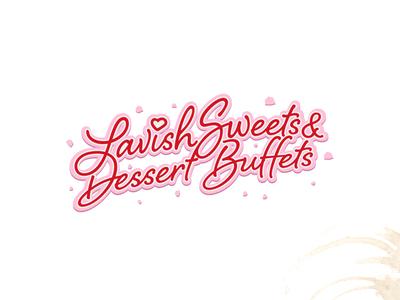 Logo design for Lavish Sweets