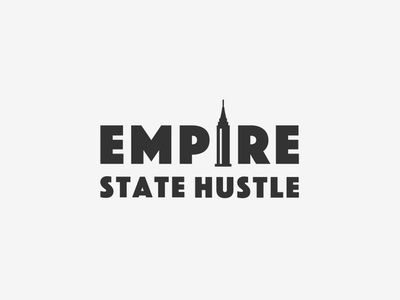 Logo for Empire State Hustle logotypes logos logo logo design