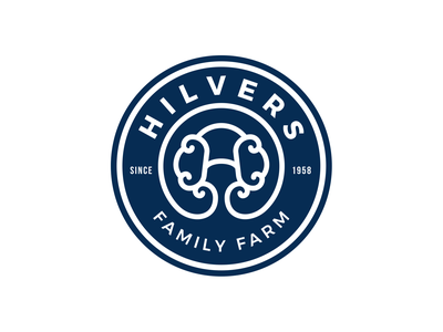 Logo design for Hilvers Family Farm logotype logojob farm logos logo