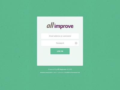 All Improve Login login web app