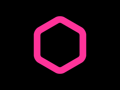 Hexagon 2.0 hive hexagon brand logo icon