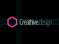 Creathive design logo