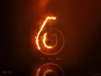 6 is for Six Six Six