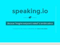 speaking.io