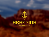 Seregios Knifeworks Logo (On Dark)