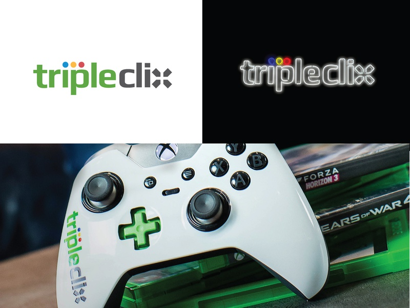 Tripleclix controler button logo gaming