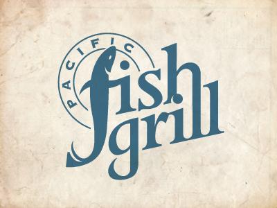 Pacific Fish Grill fish restaurant logo