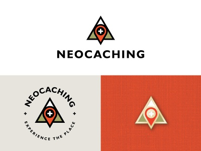 Neocaching geological explore destination mountain