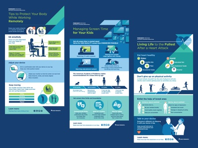 Health Infographics flow information lifestyle health branding icons illustration concept layout infographic