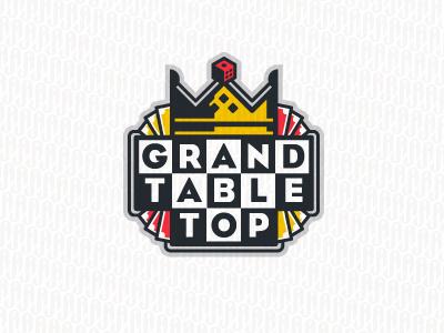 GT ames jerron cards logo crown checkerboard dice games