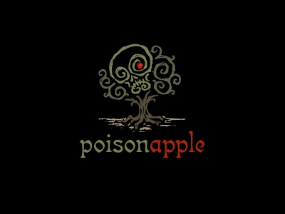 PoisonApple logo skull apple tree death for sale