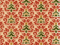Christmas Symbols damask