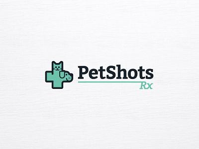 PetShotsRX logo care medical cat dog pet