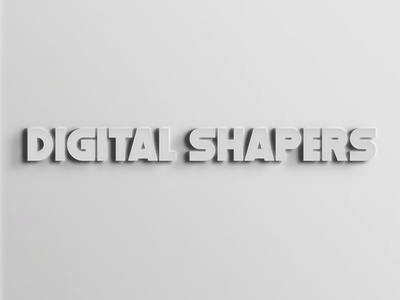 Stanford Digital Shapers digital photoshop typography
