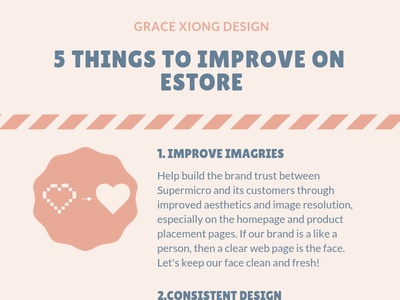 5 Things To Improve On Estore advices typography avatar photoshop