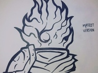 Dead Cells Mascot Logo version