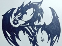 Tribal dragon VIII