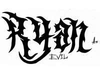Ryan Evil Tribal