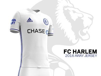 FC Harlem 2016 Kits –Away Jersey football chase uft adidas chelesafc chelsea uniforms soccer-kits kits jersey soccer fcharlem