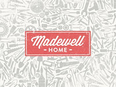 Madewell  madewell home logo branding poster distress
