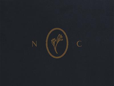 NC floral flower packaging label symbol mark carolina north icon nc