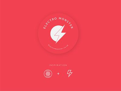 Electro Monster Logo Design design vector logo design brand identity logo branding