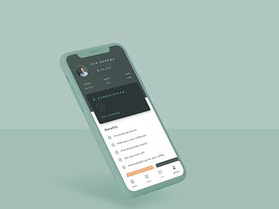 Coffee App - Connoisseur User Profile UI app design uidesign branding brand identity ux ui design