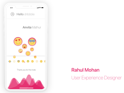 My first dribble shot love white iphone x mobile first dribbble shot ux