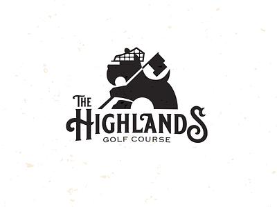 The Highlands GC-drib golf course dog logo mascot mikebruner golf scottish terrier