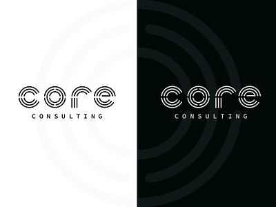Core drib wordmark graphic mikebruner logo monoline core