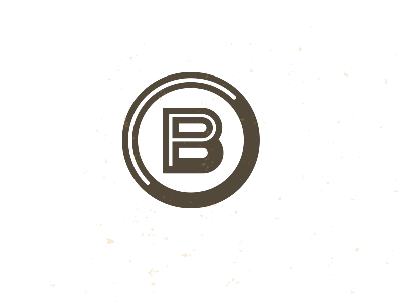 PB_4 mark logo icon d b photography photographer mike bruner deisgn graphic monogram