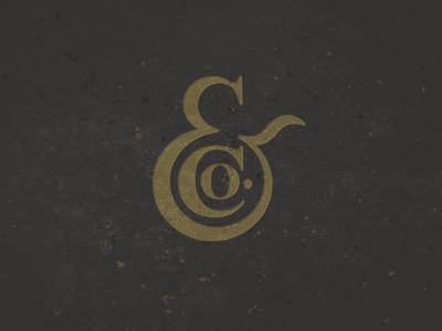 &Co ampersand co. mike bruner logo design illustration icon