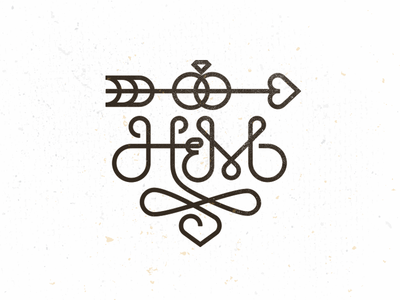 H b monogram 2
