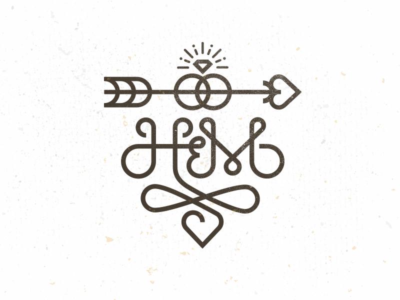 H m monogram 2