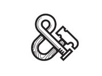 Hammer nail ampersand whitebg