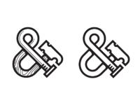 Hammer nail ampersand no xtra lines