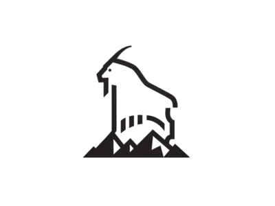 Mountain Goat 1 by Mike Bruner - Dribbble