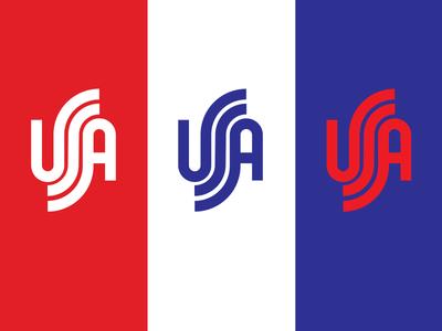 USA drib redwhiteandblue patriotic design logo america merica mikebruner